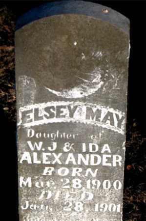 ALEXANDER, ELSEY MAY - Boone County, Arkansas | ELSEY MAY ALEXANDER - Arkansas Gravestone Photos