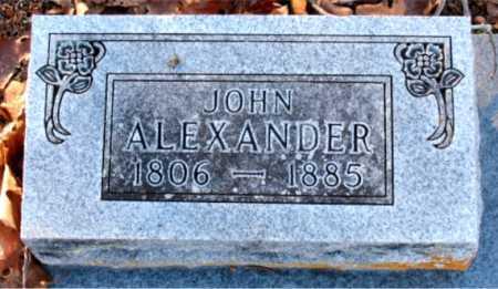 ALEXANDER, JOHN - Boone County, Arkansas | JOHN ALEXANDER - Arkansas Gravestone Photos