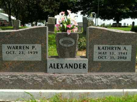 ALEXANDER, KATHRYN A. - Boone County, Arkansas | KATHRYN A. ALEXANDER - Arkansas Gravestone Photos
