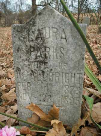 ALLBRIGHT, LAURA - Boone County, Arkansas | LAURA ALLBRIGHT - Arkansas Gravestone Photos