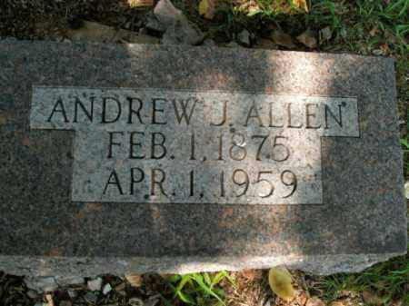 ALLEN, ANDREW J. - Boone County, Arkansas | ANDREW J. ALLEN - Arkansas Gravestone Photos