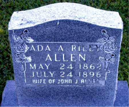 RILEY ALLEN, ADA A. - Boone County, Arkansas | ADA A. RILEY ALLEN - Arkansas Gravestone Photos
