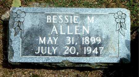 ALLEN, BESSIE M. - Boone County, Arkansas | BESSIE M. ALLEN - Arkansas Gravestone Photos