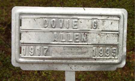 ALLEN, DOVIE G - Boone County, Arkansas | DOVIE G ALLEN - Arkansas Gravestone Photos