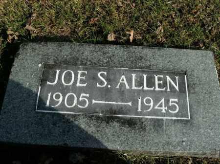 ALLEN, JOE S. - Boone County, Arkansas   JOE S. ALLEN - Arkansas Gravestone Photos