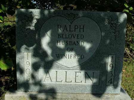 ALLEN, RALPH - Boone County, Arkansas | RALPH ALLEN - Arkansas Gravestone Photos