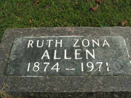 LOVETT ALLEN, RUTH ARIZONA - Boone County, Arkansas | RUTH ARIZONA LOVETT ALLEN - Arkansas Gravestone Photos