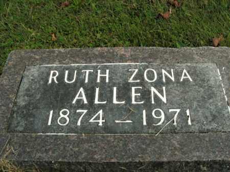 ALLEN, RUTH ARIZONA - Boone County, Arkansas | RUTH ARIZONA ALLEN - Arkansas Gravestone Photos