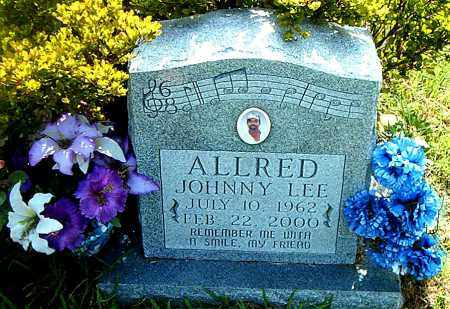 ALLRED, JOHNNY LEE - Boone County, Arkansas | JOHNNY LEE ALLRED - Arkansas Gravestone Photos