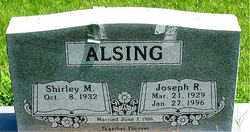 ALSING, JOSEPH R - Boone County, Arkansas | JOSEPH R ALSING - Arkansas Gravestone Photos