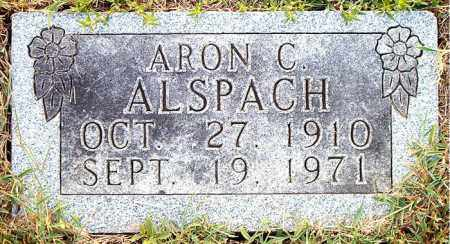ALSPACH, ARON  C. - Boone County, Arkansas | ARON  C. ALSPACH - Arkansas Gravestone Photos