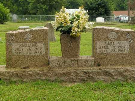 ALSUP, FAULINE - Boone County, Arkansas | FAULINE ALSUP - Arkansas Gravestone Photos