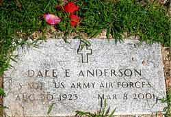 ANDERSON  (VETERAN), DALE E - Boone County, Arkansas | DALE E ANDERSON  (VETERAN) - Arkansas Gravestone Photos