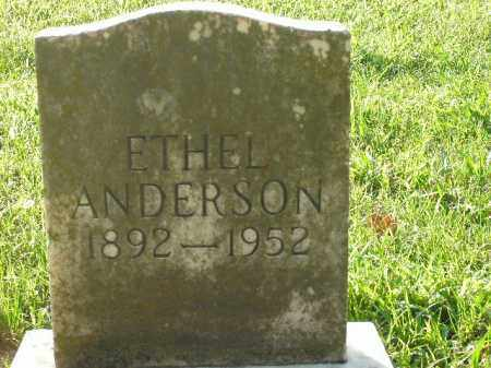 ANDERSON, ETHEL - Boone County, Arkansas | ETHEL ANDERSON - Arkansas Gravestone Photos