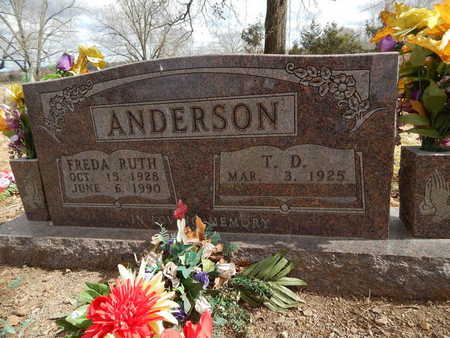 ANDERSON, FREDA RUTH - Boone County, Arkansas | FREDA RUTH ANDERSON - Arkansas Gravestone Photos