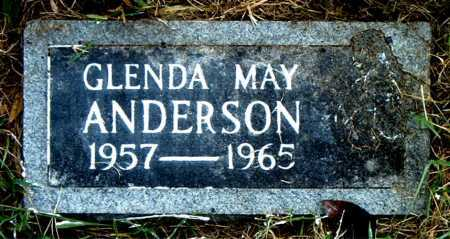 ANDERSON, GLENDA    MAY - Boone County, Arkansas | GLENDA    MAY ANDERSON - Arkansas Gravestone Photos