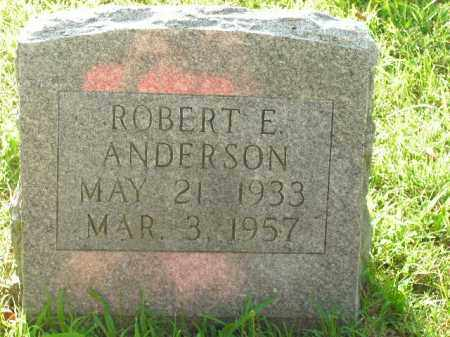 ANDERSON, ROBERT E. - Boone County, Arkansas | ROBERT E. ANDERSON - Arkansas Gravestone Photos