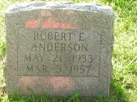 ANDERSON, ROBERT E. - Boone County, Arkansas | ROBERT E. ANDERSON - Arkansas Gravestone Photos