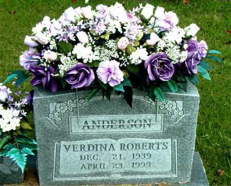 ANDERSON, VERDINA - Boone County, Arkansas | VERDINA ANDERSON - Arkansas Gravestone Photos