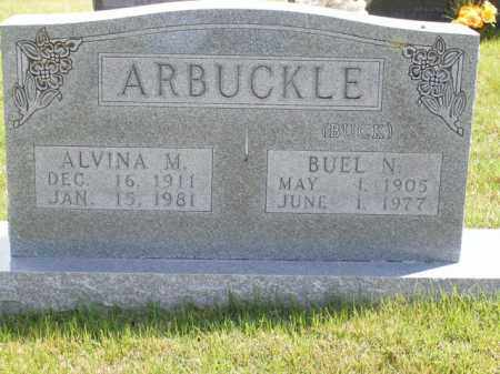 ARBUCKLE, ALVINA M. - Boone County, Arkansas | ALVINA M. ARBUCKLE - Arkansas Gravestone Photos