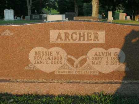 ARCHER, ALVIN G. - Boone County, Arkansas | ALVIN G. ARCHER - Arkansas Gravestone Photos