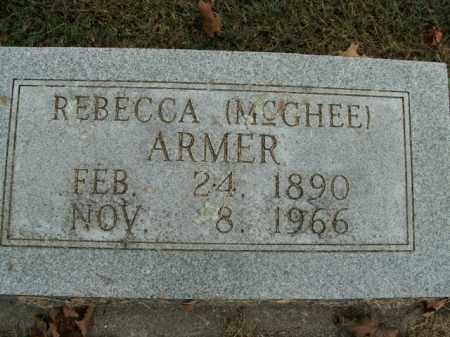 ARMER, REBECCA - Boone County, Arkansas | REBECCA ARMER - Arkansas Gravestone Photos