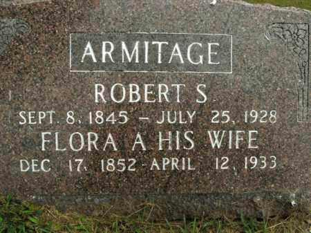 ARMITAGE, FLORA A. - Boone County, Arkansas | FLORA A. ARMITAGE - Arkansas Gravestone Photos