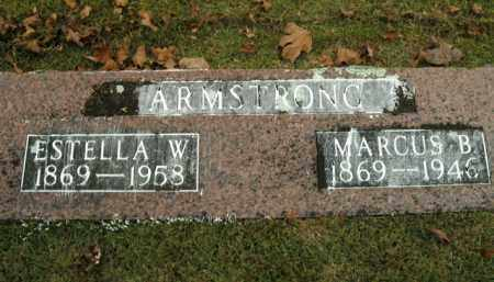 ARMSTRONG, ESTELLA W. - Boone County, Arkansas | ESTELLA W. ARMSTRONG - Arkansas Gravestone Photos