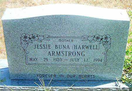 HARWELL ARMSTRONG, JESSIE BUNA - Boone County, Arkansas | JESSIE BUNA HARWELL ARMSTRONG - Arkansas Gravestone Photos