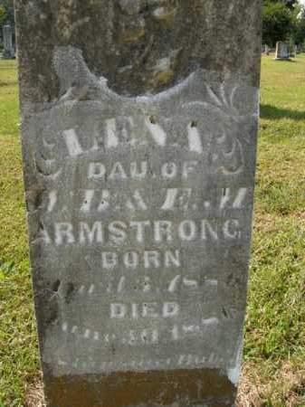 ARMSTRONG, LENA - Boone County, Arkansas | LENA ARMSTRONG - Arkansas Gravestone Photos