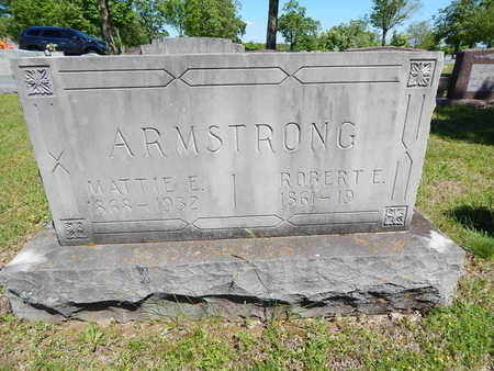 ARMSTRONG, ROBERT E. - Boone County, Arkansas | ROBERT E. ARMSTRONG - Arkansas Gravestone Photos