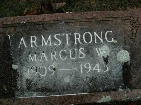 ARMSTRONG, MARCUS W. - Boone County, Arkansas | MARCUS W. ARMSTRONG - Arkansas Gravestone Photos