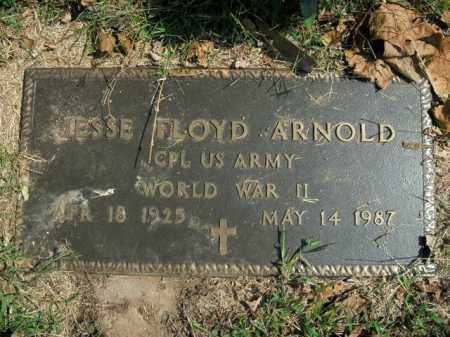 ARNOLD  (VETERAN WWII), JESSE FLOYD - Boone County, Arkansas | JESSE FLOYD ARNOLD  (VETERAN WWII) - Arkansas Gravestone Photos