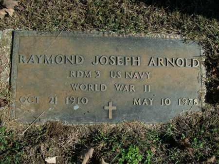 ARNOLD  (VETERAN WWII), RAYMOND JOSEPH - Boone County, Arkansas | RAYMOND JOSEPH ARNOLD  (VETERAN WWII) - Arkansas Gravestone Photos