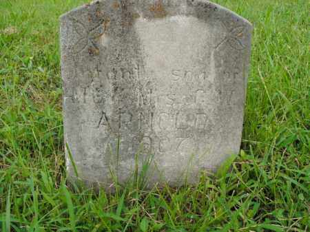 ARNOLD, INFANT SON - Boone County, Arkansas | INFANT SON ARNOLD - Arkansas Gravestone Photos