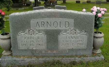 ARNOLD, FANNIE - Boone County, Arkansas | FANNIE ARNOLD - Arkansas Gravestone Photos