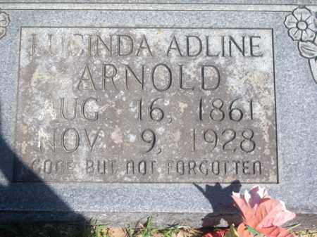 KISSINGER ARNOLD, LUCINDA ADLINE - Boone County, Arkansas | LUCINDA ADLINE KISSINGER ARNOLD - Arkansas Gravestone Photos