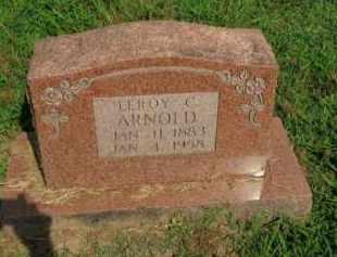 ARNOLD, LEROY C. - Boone County, Arkansas | LEROY C. ARNOLD - Arkansas Gravestone Photos