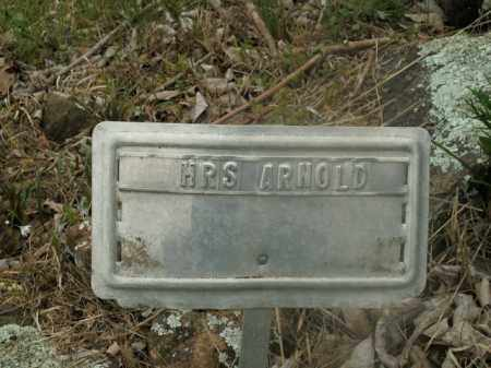 ARNOLD, MRS. - Boone County, Arkansas | MRS. ARNOLD - Arkansas Gravestone Photos