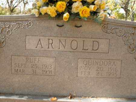 ARNOLD, RUFF - Boone County, Arkansas | RUFF ARNOLD - Arkansas Gravestone Photos