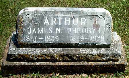 ARTHUR, JAMES  N. - Boone County, Arkansas | JAMES  N. ARTHUR - Arkansas Gravestone Photos