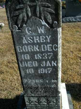 ASHBY, G.W. - Boone County, Arkansas | G.W. ASHBY - Arkansas Gravestone Photos