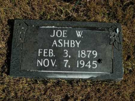ASHBY, JOE W. - Boone County, Arkansas | JOE W. ASHBY - Arkansas Gravestone Photos
