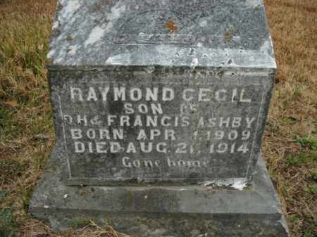 ASHBY, RAYMOND CECIL - Boone County, Arkansas | RAYMOND CECIL ASHBY - Arkansas Gravestone Photos