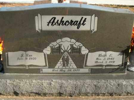 ASHCRAFT, KEITH E. - Boone County, Arkansas | KEITH E. ASHCRAFT - Arkansas Gravestone Photos