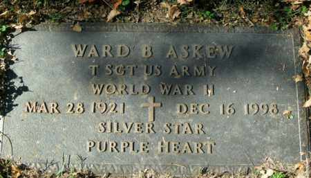 ASKEW  (VETERAN WWII), WARD B - Boone County, Arkansas | WARD B ASKEW  (VETERAN WWII) - Arkansas Gravestone Photos