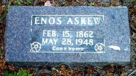 ASKEW, ENOS - Boone County, Arkansas | ENOS ASKEW - Arkansas Gravestone Photos