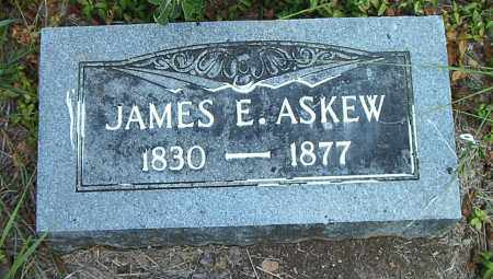 ASKEW, JAMES E. - Boone County, Arkansas | JAMES E. ASKEW - Arkansas Gravestone Photos