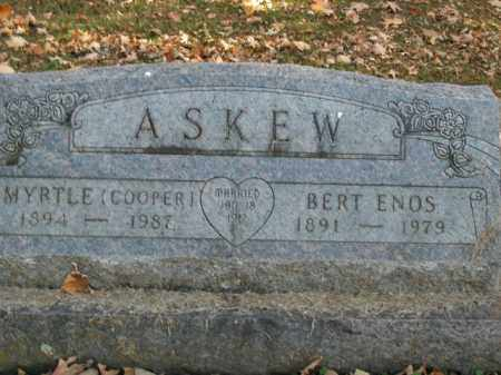 ASKEW, BERT ENOS - Boone County, Arkansas | BERT ENOS ASKEW - Arkansas Gravestone Photos