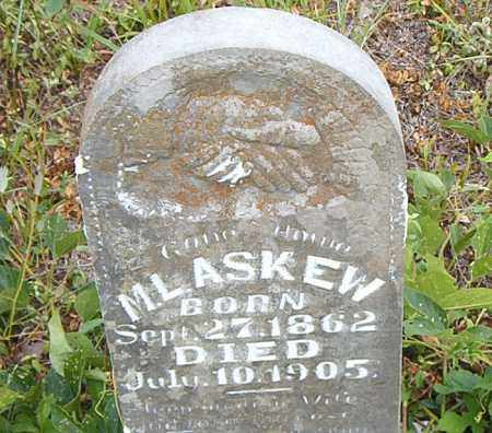 ASKEW, M.  L. - Boone County, Arkansas | M.  L. ASKEW - Arkansas Gravestone Photos